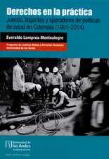 Derechos en la práctica. Jueces, litigantes y operadores de políticas de salud en Colombia (1991-2014)